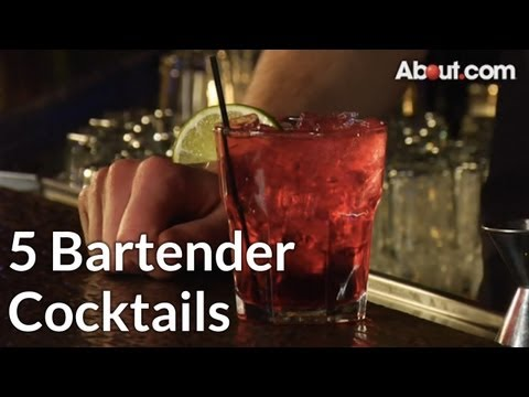 Top 5 Bartender Cocktails