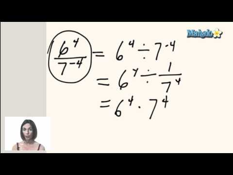 Working with Negative Exponents (ex.3)