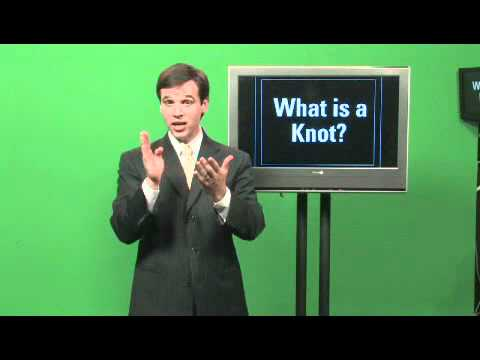 What Does the Term Knot Mean