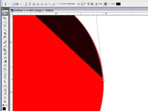 How Too Use The Pen Tool In Photoshop Part1