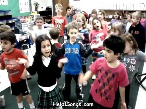 Halloween Song - Little songs for Language Arts and Seasonal fun!