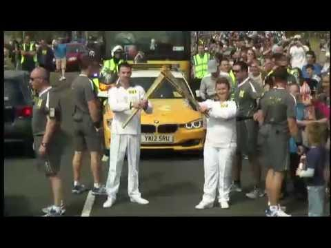 Olympic Torch Relay Day 17 Highlights - London 2012