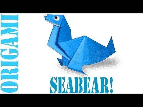 Origami Daily - 369: Sea Bear - TCGames  [HD]