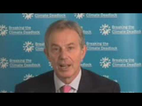 Tony Blair on the Governors Climate Summit