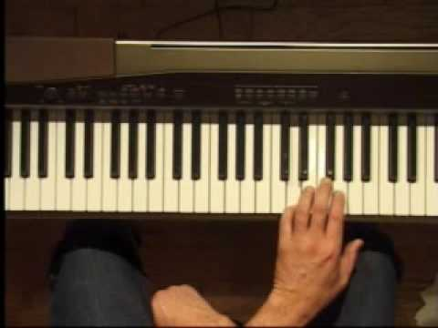 Piano Lesson - G Major Triad Inversions (Left Hand)
