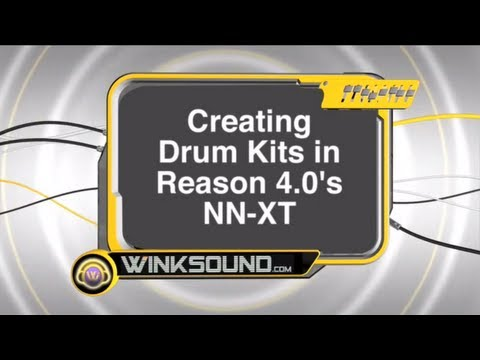 Propellerhead Reason: Creating Drum Kits with the NN-XT | WinkSound