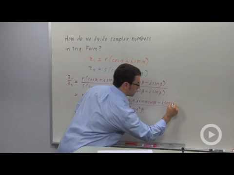 Precalculus - Dividing Complex Numbers