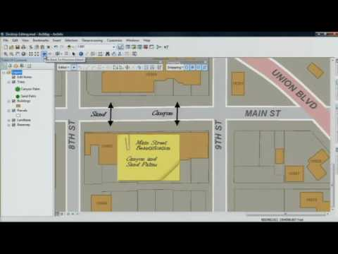 What's Coming in ArcGIS 10: Enhanced Map Editing