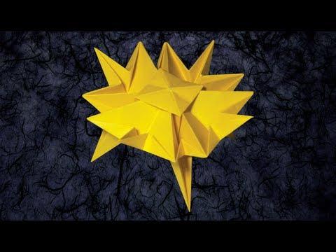 Origami Squishy Blob by Jeremy Shafer (Folding Instructions)