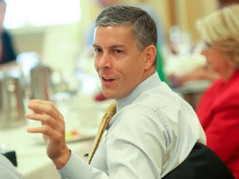 We Don't Live In Iraq - Education Sec. Duncan on Youth Violence