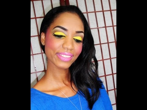 Rihanna 'Who's That Chick' Makeup Look - Tutorial