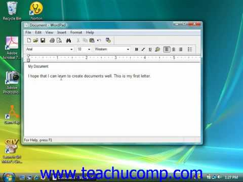 Windows Tutorial Formatting Text Microsoft Training Lesson 4.3