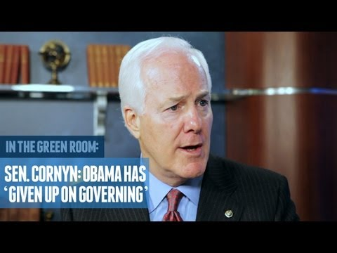 Sen. Cornyn: Obama Has 'Given Up on Governing'