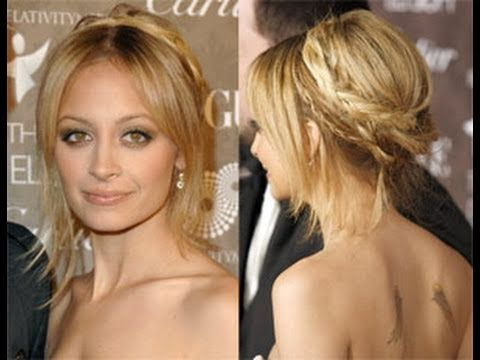 Nicole Richie Hair Inspired Bohemian Braid One Sided Easy Hair Braid Hair Tutorial