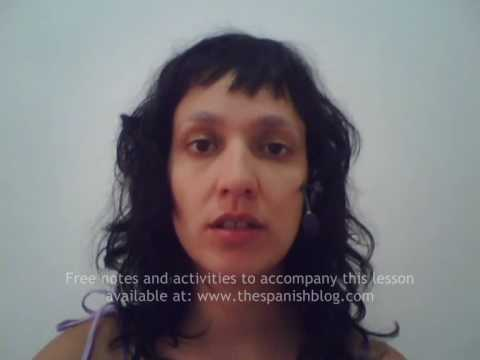 Spanish Courses Intermediate Spanish Lesson 20 Surprise & Concern