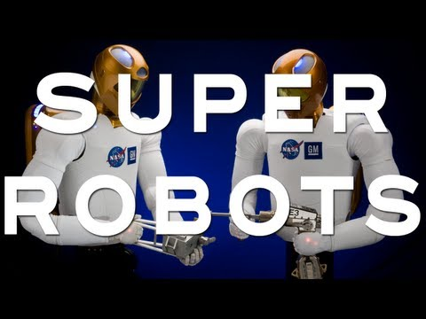 Super Robots - YouTube Space Lab with Liam & Brad