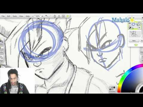 How to Draw Uub Breakdown