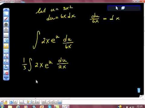 AP Calculus AB Integration of e^fx  e^f(x) Using U Substitution