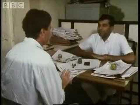 Madras city boat search  - Michael Palin travel - Around the World in 80 Days - BBC