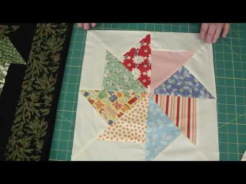 Stack and Whack Quilt using Turnovers!