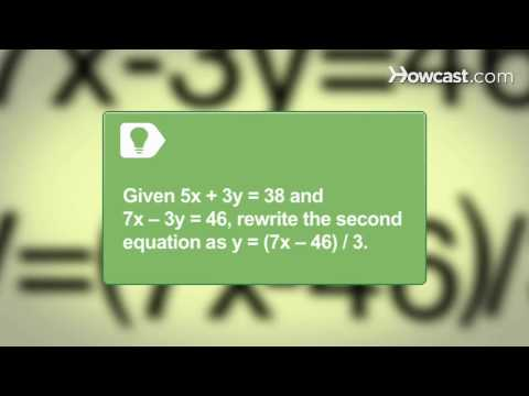 How To Solve an Algebraic Equation