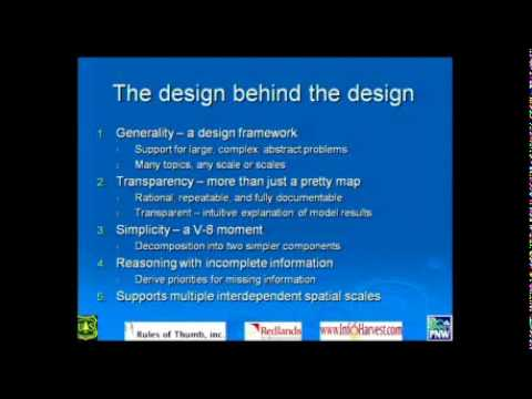GeoDesign Summit 2010: Keith Reynolds: GeoDesign in Environmental Analysis