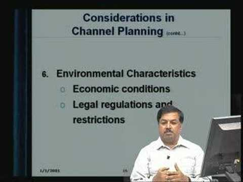 Lecture - 15 Marketing Functions: Channels of Distribution