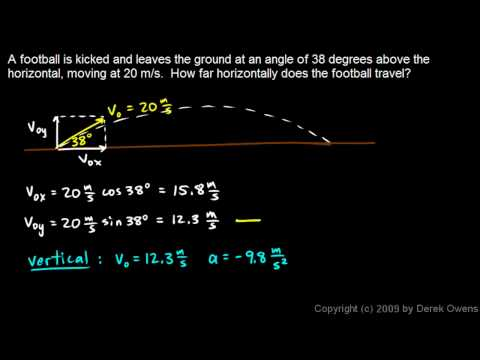 Physics 3.5.4h - Projectile Practice Problem 8