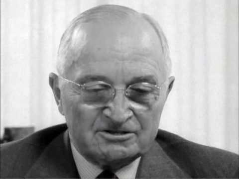 Harry S. Truman — The Lobster Story