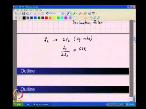 Mod-01 Lec-18 Oversampling & Noise Shaping