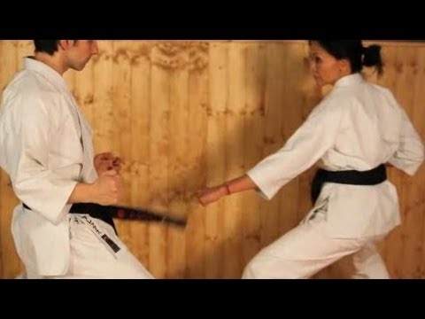 Karate Moves: Front Kick