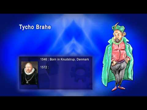 Top 100 Greatest Scientist in History For Kids(Preschool) - TYCHO BRAHE