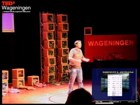 Reclaiming our economic system:  Adam Mathews at TEDxWageningen