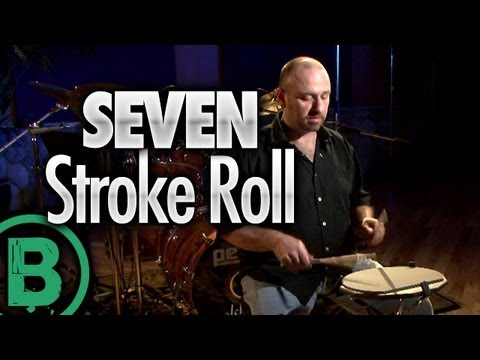 Seven Stroke Roll - Drum Rudiment Lessons