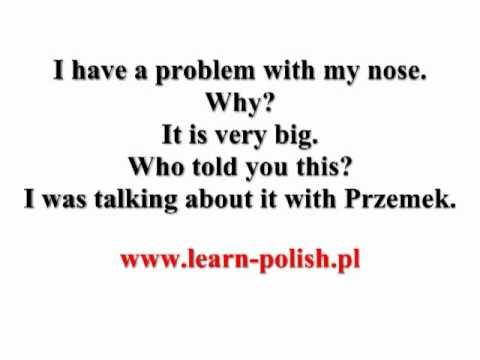6 Polish grammar. Instrumental case. Singular. Masculine.