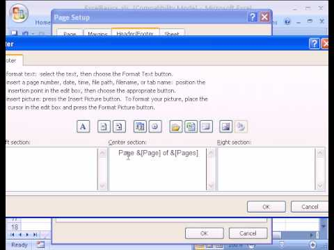 Excel Basics #17: Page Setup