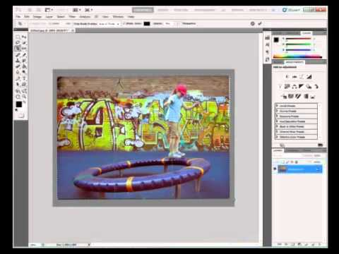 Photoshop Tutorial : How to Adjust Image Color in Adobe Photoshop CS5