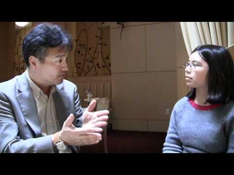 Adora interviewing Milton Chen.MTS