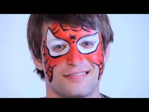 How to Do Face Painting: Spiderman