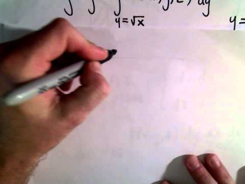 Triple Integrals, Changing the Order of Integration, Part 3 of 3