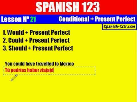 Class 21. Conditional   Present Perfect (part 2)