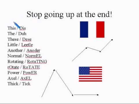 FRENCH SPEAKERS #1 How To American Accent Reduction Lesson
