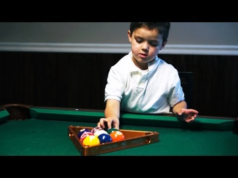 Secrets of a 5-Yr-Old Pool Shark