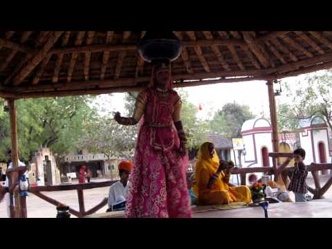 MOMENTS OF INDIA  34 (Rajasthani Dancers in Chaukhi Dhani)