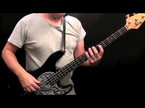 How To Play Bass Guitar to Disco Inferno - the Trampps (Bridge)