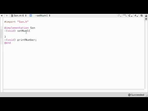 Objective C Programming Tutorial - 37 - Overriding Methods