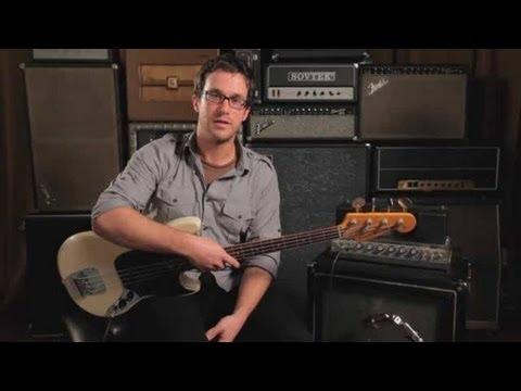 Bass Guitar Lesson: Jazz Basics