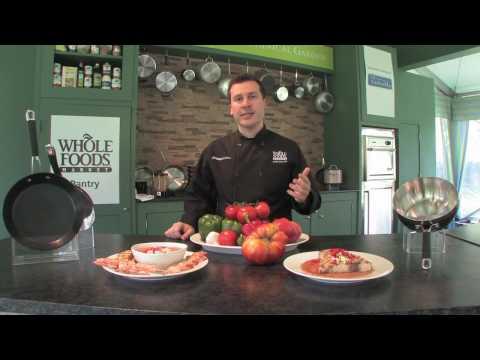 Whole Foods Market Fridays - Grilled Tomato Cucumber Gazpacho