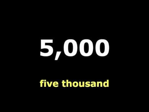 Numbers1000,2000.3000.English Language Teaching