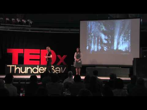TEDxThunderBay - Michelle Addison and Kirsten Pavelich - Embracing our Perfect Imperfect Selves